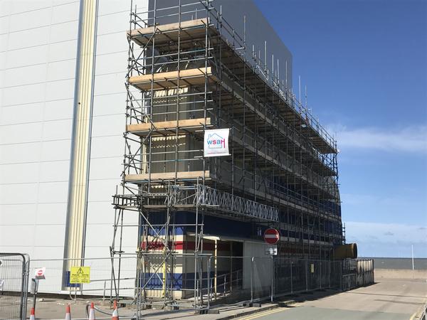 scaffolding north wales